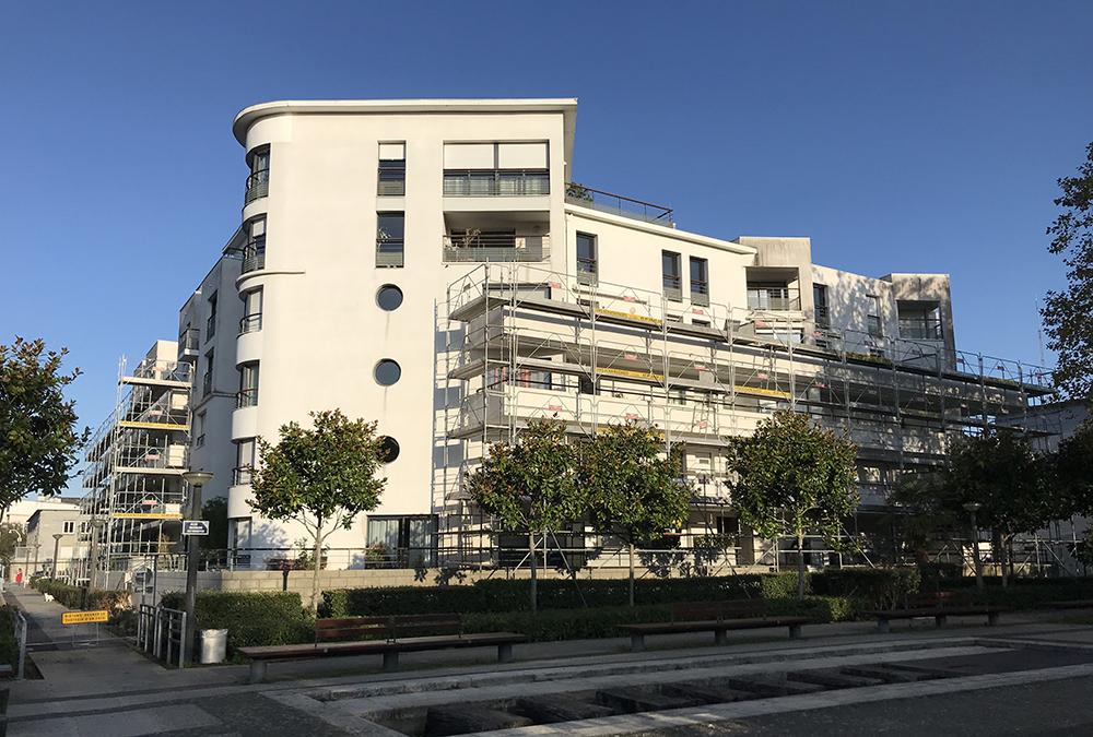 Rénovation de façades Rézolia Lorient